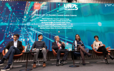 Las Naciones Unidas inician los diálogos del 75º aniversario: La mayor conversación global sobre el futuro del mundo comienza ahora